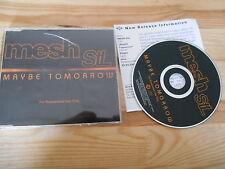 CD Pop Mesh StL - Maybe Tomorrow (1 Song) Promo ZOMBA / JIVE Presskit sc
