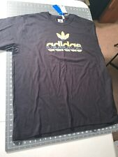 Adidas Black 2Xl Short Sleeve T Shirt Graphic Crafty Logo Fl4777