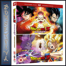 DRAGON BALL Z: BATTLE OF GODS & RESURRECTION F  *BRAND NEW DVD ***