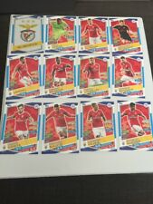Benfica Match Attax 17/18 Champions League Trading Cards Full Team