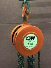 Cm Series 622 Columbus Mckinnon 2 Ton Manual Chain Lift Hoist