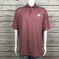 Ahead Golf Polo Shirt LARGE Men's Crowne Plaza Invitational Colonial Texas