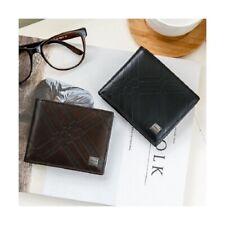 OMNIA Men's High Genuine Leather Trendy ZETA Cowhide Half Wallet Purse 1148C