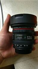 *AS BRAND NEW* Canon EF 8-15mm f/4.0 USM Lens