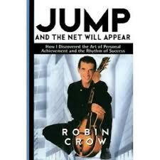 Robin Crow~JUMP AND THE NET WILL APPEAR~SIGNED 1ST/DJ~NICE COPY