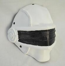 COOL White Airsoft Full Face Wire Mesh Protection Snake Eye Mask Halloween Prop
