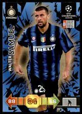 Panini Adrenalyn XL UEFA Champions League 2010/2011 Inter Milan Walter Samuel