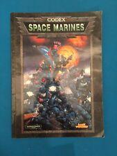Warhammer 40,000 Codex: Space Marines RPG Gaming Game Book 40k Supplement 1998