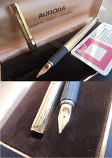 HASTIL AURORA PENNA STILOGRAFICA VERMEIL ARGENTO 925 E ORO14K +GAR Fountain Pen
