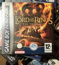 Lord of the Rings THIRD AGE Game boy Advance GBA job lot x 5 all NEW & Sealed