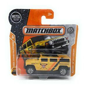 Matchbox MBX Superfast 2018 No 43 Hummer H2 SUV Concept short blister card