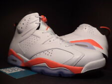 2014 Nike Air Jordan VI 6 Retro WHITE INFRARED PINK BLACK RED 384664-123 NEW 10