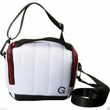 NEW Golla fits MIRRORLESS CAMERA & Lens or DSLR - White BAG IONA Stylist Case