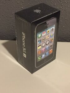 Original Apple iPhone 3GS 8GB EMPTY Phone Box with Manual and Stickers