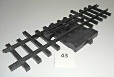 New Bright G Gauge /Scale Stop Start Control Switch Track Piece 1986 Vintage 43