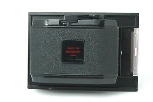[Exc Horseman 10EXP /120 Roll Film Back Holder 6x7 / 4x5 from JAPAN F57