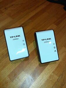 TP-LINK TL-PA210 AV200 Mini Powerline Networking Adapter Starter Kit 200Mbps
