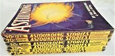 ASTOUNDING STORIES 1937 - 6 Issues - VERY RARE - HardToFind  - Most VG - $104.99