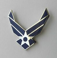 USAF AIR FORCE CUT OUT WINGS UNITED STATES LAPEL PIN BADGE 1 INCH