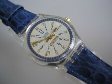 """SWATCH MUSICALL """"CALL UP"""" +NEUWARE+ TRAUMSWATCH IN BLAU!!!"""