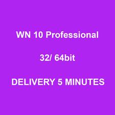 GenuineWind 10 Professional Pro Key 32 / 64bit Activation Code License Key