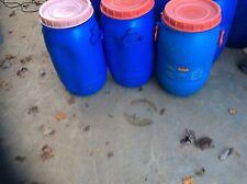 Vermin proof Large Plastic Tub/Barrel Convert to pheasant feeder,