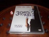 3 days to kill Dvd ..... Nuovo