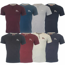 a9683477 Mens T Shirt Tokyo Laundry Hemsby Short Sleeved Westby Henley Style Top  Summer