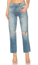 $248 NWT GRLFRND x Revolve JANE High Rise Straight Jeans Sz 29 Ball Of Confusion