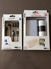 2 accessoires neufs Nintendo Ds Lite - Écouteurs / boîte rangement-protection