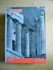 Merian Athen und Attika 12/11 Jg 1958