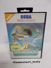 WIMBLEDON II (SEGA MASTER SYSTEM) USATO COME DA FOTO - PAL BOXED