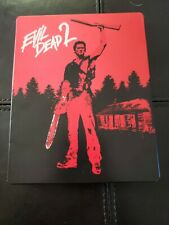 Evil Dead 2 Blu-ray/DVD Combo STEELBOOK REGION B ONLY