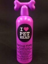 Dog Shampoo 1X Pet Head Feeling Flaky Strawberry Yoghurt Dry Sensitive Skin 475m