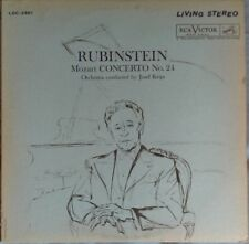 Rubinstein, Josef Krips, Mozart – Concerto No. 24 · Rondo, K. 511 ~FAST SHIP!
