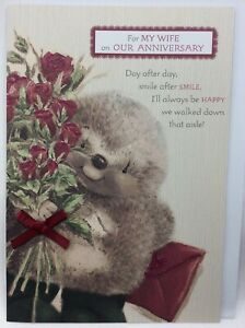 Lovely Large Hallmark Country Companions Anniversary Card To My Wife