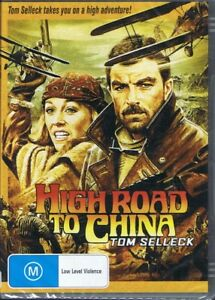 High Road To China DVD Starring Tom Selleck NEW & SEALED Free Post