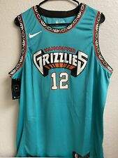 Ja Morant Memphis Grizzlies Vancouver City Jersey Size Large New With Tags