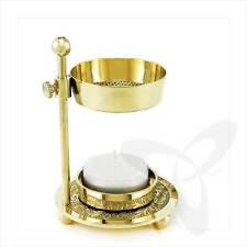 SPARSAME Weihrauchständer mit Teelicht Messing Handarbeit Räucherset 2912 NEU