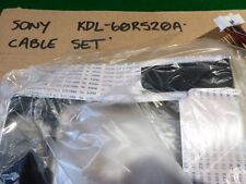 "OUT OF SONY KDL-60R520A 60"" LED TV, RIBBON / CABLE SET ONLY, EC"