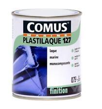 Peinture polyuréthane NOIRE mono-composant PLASTILAQUE 127 COMUS PLASTICOQUE