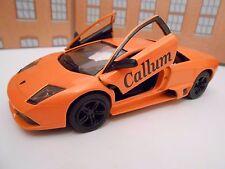 LAMBORGHINI PERSONALISED ANY NAME Toy Car MODEL boy girl dad CHRISTMAS GIFT NEW!
