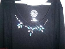 NWT SO Girls Cozy Necklace Dress Black Embellished size Large L 14