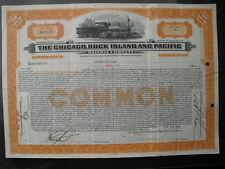 Chicago Rock Island and Pacific Railway Company  1933   ( Selten angeboten)