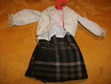 """Barbie """"Back to School"""" Outfit, Set/10, Handmade, One-of-a-kind"""
