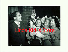 "Perry Como & The Fontaine Sisters Holding ""Michael Award"" PRINT CBS-TV"