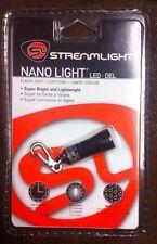 STREAMLIGHT NANO LIGHT BLACK