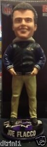 Baltimore Ravens Joe Flacco Varsity Forever Collectible Bobble Head Bobbin #/504