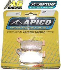 Apico Ceramic Carbon Rear Brake Pads Honda XLR 250 1994 XR 250 Motard 2003-2005