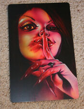 JOE CAPOBIANCO Art 5.5X78.5 LICKITY SPLIT Handbill like poster print tattoo